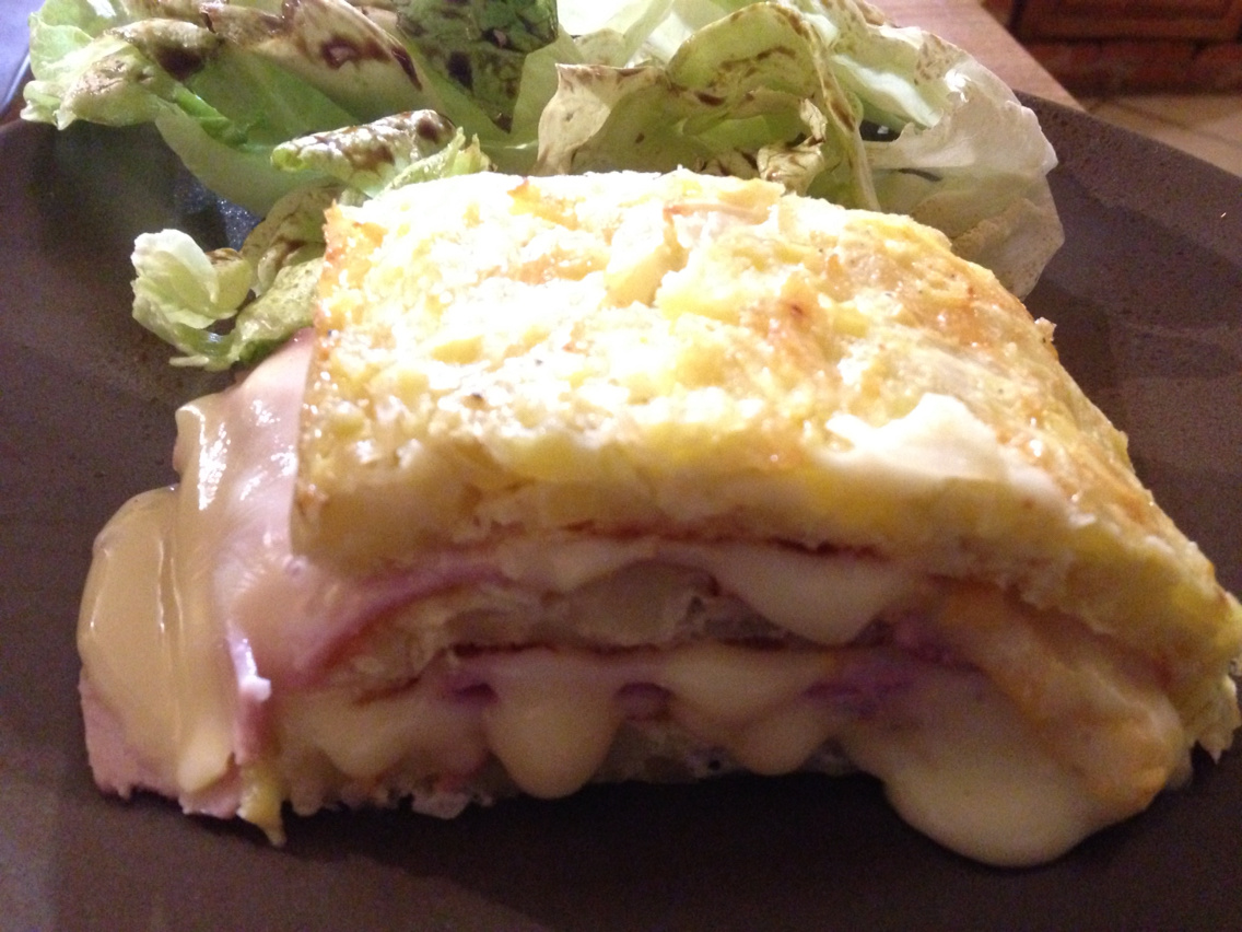 Rolled tartiflette with cook'in